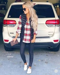46 Beautiful Weekend Casual Outfits For Women letterformat.site The post 46 Beautiful Weekend Casual Outfits For Women letterformat.site appeared first on Casual Outfits. Perfect Fall Outfit, Casual Fall Outfits, Fall Winter Outfits, Autumn Winter Fashion, Casual Fall Fashion, Winter Vest, Casual Winter, Fall Fashion Vest, Winter Outfits Women 20s
