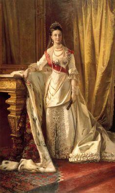 Retrato de la Princesa Lovisa de Suecia, Reina de Dinamarca