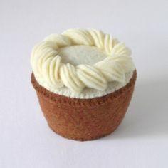 Spice Cake Plush Cupcake from Etsy
