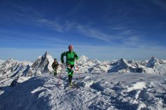 Matterhorn Ultraks  SKialp 3K: he Matterhorn Ultraks SkiAlp ski touring races launched in February 2013 and take place in Zermatt every other year, in odd-numbered years. The event alternates with the Patrouille des Glaciers (a team race held in even years: 2014, 2016, and so on). Ski Touring, Zermatt, A Team, Mount Everest, Skiing, February, Tours, Events, Mountains
