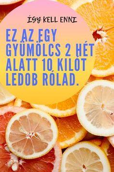 Ez az egy gyümölcs 2 hét alatt 10 kilót ledob rólad. Így kell enni. grapefruit diéta Grapefruit, Kili, Good Food, Nap, Fitness, Style, Diet, Excercise, Stylus