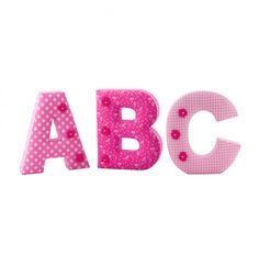 Nursery Room Decorations   Wall Letters   Baby Gifts   Little Sweet Designs