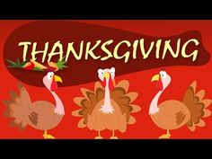 Thanksgiving songs for children playlist! This collection of popular Thanksgiving and fall (autumn) songs for children includes Thanksgiving dances for child. Thanksgiving Videos, Happy Thanksgiving Images, Thanksgiving Preschool, Thanksgiving Feast, Thanksgiving Greetings, Turkey Songs, Preschool Songs, Kids Songs, Classroom Activities