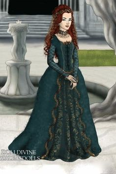 The Red Queen Of Throndell 2 By Abigailnz111 Created Using The Lotr Hobbit Doll