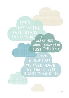 Richer than kings - greeting card quotes открытки, небо Quotable Quotes, Me Quotes, Inspiring Quotes About Life, Inspirational Quotes, Happy Monday Quotes, Pretty Drawings, Love Is All, Beautiful Words, Hand Lettering