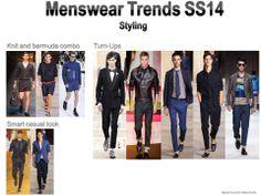 Menswear SS14 styling