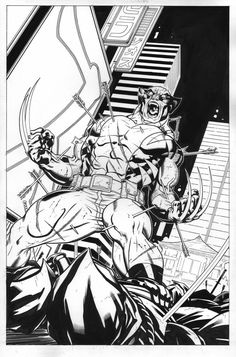 Wolverine Tokyo Cover by EdMcGuinness on deviantART