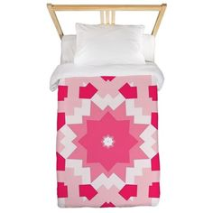 Pinkette Amalie Twin Duvet Cover #bedroom #pink #circusvalley #apinparty