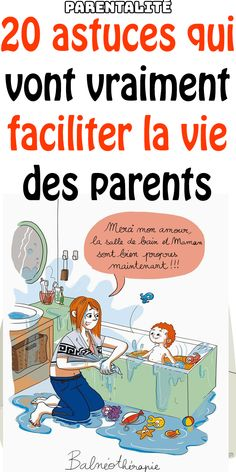 Vous êtes des parents épuisés ? Alors, voici 20 astuces qui vont vraiment faciliter la vie des parents   #parenting #parents #enfant #parent #baby #bébé #maman #papa #parentalité Futur Parents, Education Positive, Voici, Comic Books, Parenting, Lifestyle, Cover, Ranger, French