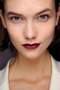 Tendencias maquillaje otono invierno 2013 labios burgundy - Lanvin