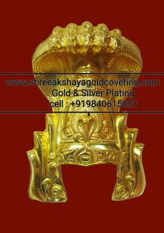 SILVER AND GOLD POLISH Copper And Brass, Gold Polish, Gold Plating, Crowns, Statues, Temple, God, Silver, Pictures