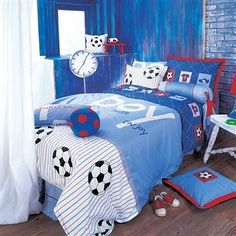 Are You Looking For A Matching Soccer Themed Bedding Set For Your Kids  Room? If You Are Looking For A High Quality, Washable Comforter Set With.