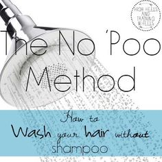 No Poo Method - I did this before and wasn't completely happy but the process was a little different. Going the no shampoo route works better than one might think though and if nothing else my hair was super soft the first time I used real shampoo and conditioner after going without for 5 months.