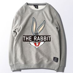 Men's Clothing Dependable Bugs Bunny New Cap Tracksuit Loose Hoodies Sweatshirt New European Style Streetwear Fashion Cool Plus Size Oversized Hoodie Long