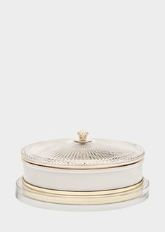 Large Medusa Amber Scented Candle - Versace Home Accents
