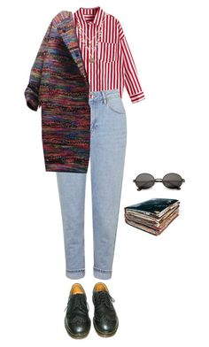 """""""natalie"""" by julietteisinthe80s on Polyvore featuring Topshop, Alicia Marilyn Designs and Dr. Martens"""