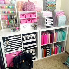 Craft room organization ☕️