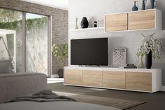 100 veces he visto estas lindas muebles minimalistas. Nordic Living Room, New Living Room, Home And Living, Tv Unit Furniture, Home Furniture, Furniture Design, Home Room Design, Living Room Designs, Tv Cabinet Design