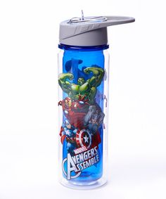 Another great find on #zulily! Avengers Assemble 18-Oz. Tritan Water Bottle by Avengers #zulilyfinds