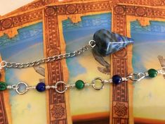 This uniquely handcrafted lapis lazuli And Malachite pendulum from Mystically Charmed, a division of Simply Charmed Jewelry has all the touches of intuition! It's the perfect length of 10 with the right balance of both semi precious stones! Jewelry Crafts, Jewelry Box, Jewelry Making, Women Jewelry, Casual Chic Summer, Sparkly Jewelry, All About Fashion, Handcrafted Jewelry, Etsy