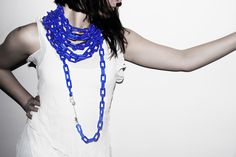 Chain necklace by Frances Stunt available at Franny & Filer jewellery shop in Chorlton - www.frannyandfiler.com - £140