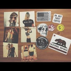 My BM Sticker/Card Set Have everything shown for $20. Never used stickers and photo cards.  Brandy Melville Other