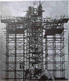 fotos-passado-21 Construção do Cristo Redentor, 1922 – 1931