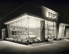 Old Ford Dealership | Car lots as I remember them | Pinterest