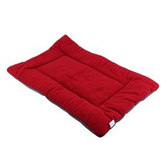 Yosoo Soft Cozy Dog Puppy Cat Warm Crate Plush Bed Mat Pad Cover Machine Washable Pet Bed Cushion 3 Colors Optional Loganberry >>> Check out the image by visiting the link.