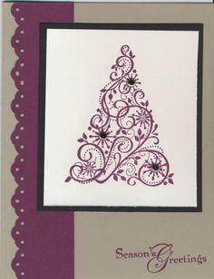 Razzleberry Snow Swirled by kamakaz1gb - Cards and Paper Crafts at Splitcoaststampers