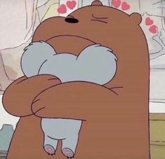 Yoongi and Hoseok hate each other They really do That is until Yoon… Bear Wallpaper, Cartoon Wallpaper, We Bare Bears Wallpapers, Cute Wallpapers, Cartoon Icons, Cute Cartoon, Bear Meme, We Bear, Cartoon Profile Pictures