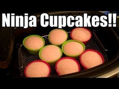 Ninja Cooking System - How To Make Cupcakes! Ninja Blender Recipes, Ninja Recipes, Juicer Recipes, Crockpot Recipes, Cooking Recipes, Salad Recipes, Multi Cooker Recipes, Pressure Cooker Recipes, Crock Pot Slow Cooker