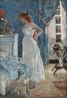 PensieriDifettosi, La Toilette by Henri Gervex 1878