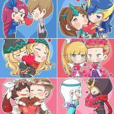 Hasil gambar untuk lesley and gossen art Mobiles, Batman Arkham City, Batman Arkham Origins, Anime Couples, Cute Couples, Miya Mobile Legends, Moba Legends, Adventure Time Wallpaper, Chibi Couple