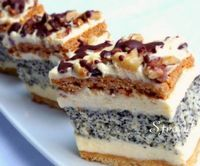 Sweet Recipes, Cake Recipes, Dessert Recipes, Xmas Desserts, Hungarian Recipes, Hungarian Food, Cake Bars, Chocolate Cheesecake, Sweet And Salty