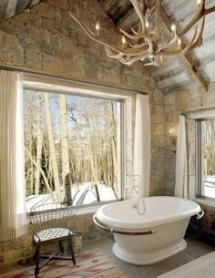 29 Stunning DIY Rustic Bathroom designs you should consider for your bathroom decor Rustic Bathroom Chandelier Rustic Bathroom Lighting, Barn Bathroom, Bathroom Chandelier, Rustic Bathroom Designs, Rustic Bathrooms, Bathroom Plans, Bathroom Ideas, Antler Chandelier, Rustic Lighting