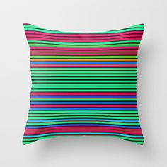 Re-Created Channels xvii #Throw #Pillow by #Robert #S. #Lee - $20.00