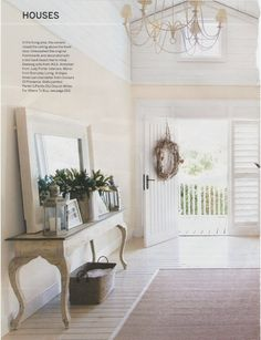 Foyers and Entryways | light and airy. | Foyers and Entryways