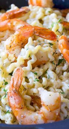 Roasted Shrimp Pasta