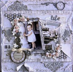 RACHELLE Life's little Embellishments: Life is a Journey ****Dusty Attic Mood Board March***