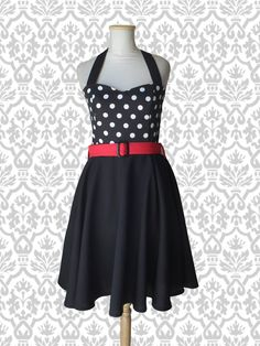 Vest Lucy Lunares grandes #pinup #vestidopinup #pinupdress #polkadot #lunares #vestidolunares #vestidoplato #ropa #indumentaria #pinup