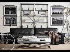 Bildergebnis für industrial style living room