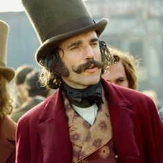 """Daniel Day-Lewis in """"Gangs of New York"""" directed by Martin Scorsese. Best Movies On Amazon, The Best Films, Great Movies, Best Movie Actors, Indiana Jones, Cool Mustaches, Moustaches, Gangs Of New York, Daniel Day"""