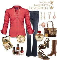 """""""Going out with the girls"""" by lulurose98 ❤ liked on Polyvore"""