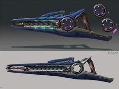 concept for Halo:The Master Chief Collection Cosplay Weapons, Sci Fi Weapons, Weapons Guns, Fantasy Weapons, Halo 5, Halo Game, Halo Armor, Halo Series, Character Design
