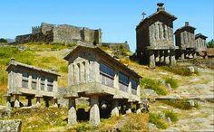 Sobranceiro a terras de Espanha, em posição dominante na serra Amarela ergue-se o Castelo de Lindoso   Escapadelas   #Portugal #Castelo #Lindoso #Monumento
