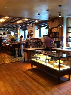 Favorite spot for breakfast and lunch. Food is excellent, coffee is among the best in NYC