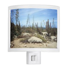 Aruba Landscape With Cactus Night Lites    •   This design is available on t-shirts, hats, mugs, buttons, key chains and much more    •   Please check out our others designs and products at www.zazzle.com/zzl_322881145212327*