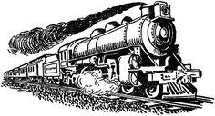 steam train clip art
