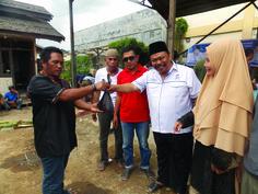 DPD Perindo Kutim qurban sapi dan kambing buat warga